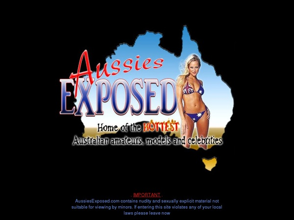 Aussies Exposed Account Share
