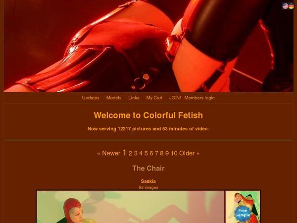 Colorful Fetish Videos