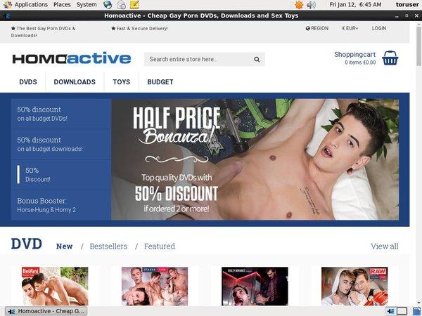 Homoactive No Credit Card
