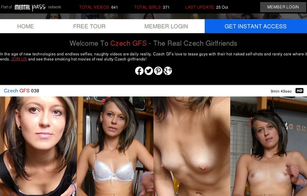 How To Get Czech GFS Account