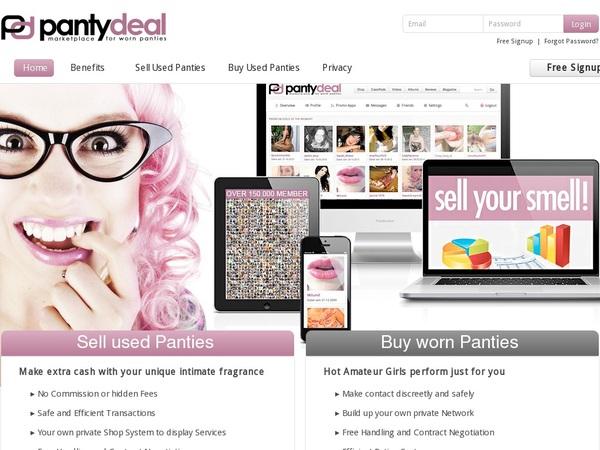 Pantydeal.com Upcoming