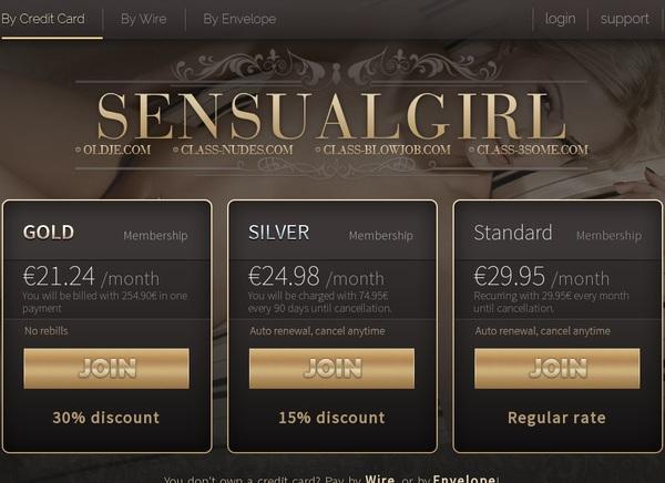 Sensual Girl Members Area