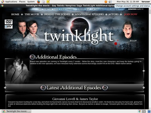 Twinklight Password Dump