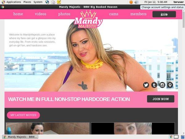 Login For Mandy Majestic