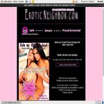 Free Account Of Eroticneighbor
