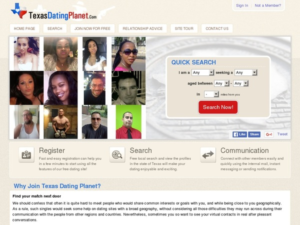 Texas Dating Planet Free Pass