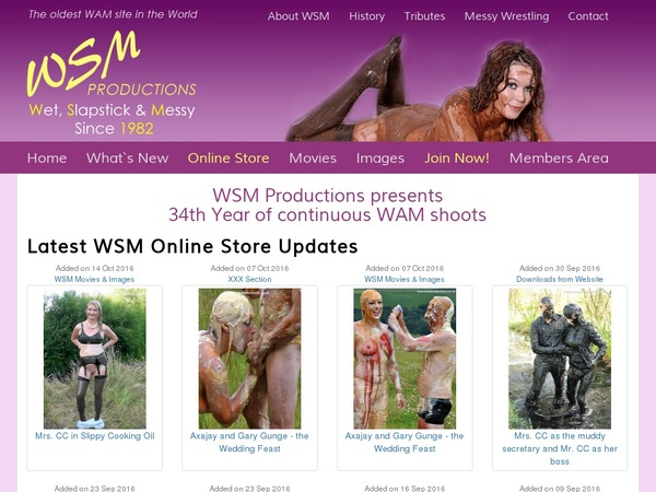 Wsmproductions Password And Account