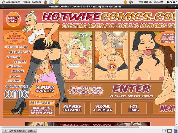 Hotwifecomics.com With AOL Account