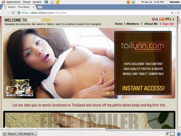 Tailynn Free Access