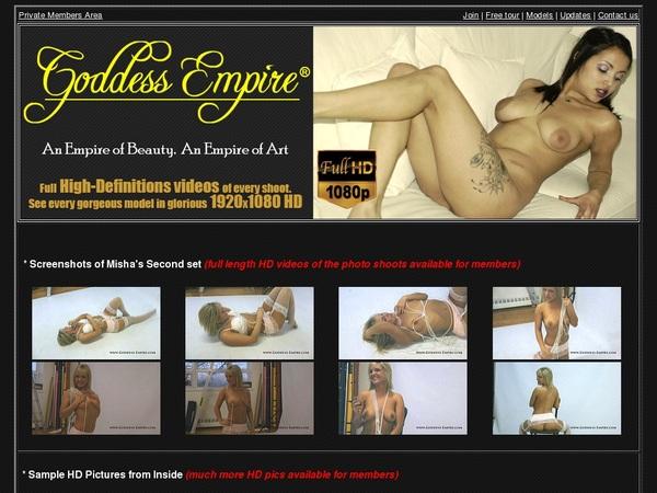 Get Goddess-empire.com For Free