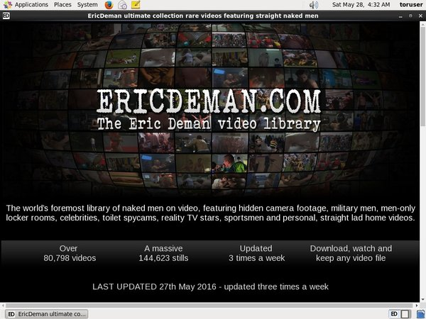 Ericdeman.com With Credit Card