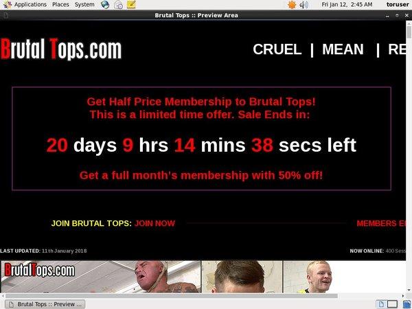 Membership For Brutaltops.com
