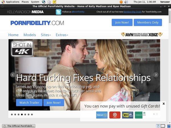 Free User For Pornfidelity.com