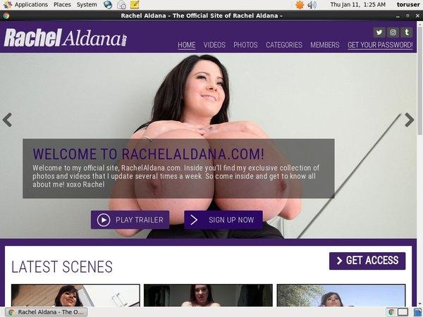 Rachelaldana.com Members Area