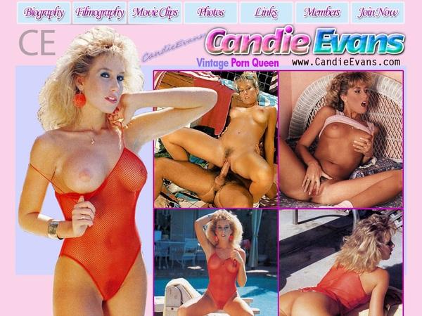 Login Candy Evans